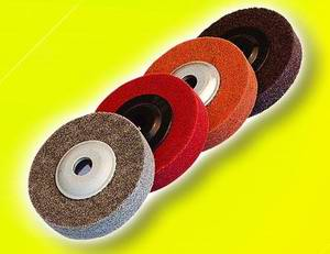 Non-woven disc, Polishing Discs, Unitized Discs, surface conditioning discs